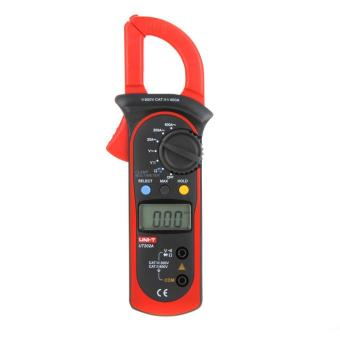Harga UNI-T UT202A Data Hold Clamp Meter 600A DC/AC Voltage AC Current Tongs Resistance Digital Clamp Meters W/ MAX & MIN Mode - intl