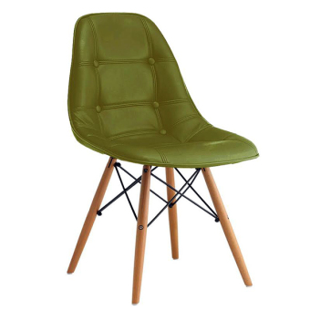 Home Source Linde Doily Chair PC801WB (Leather Green) Price Philippines