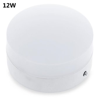 12W Round Surface Mounted LED Panel Light (White) - intl Price Philippines