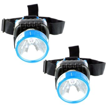 NSS NS-286 LED Super Capacity Head Lamp (Blue) Set of 2 Price Philippines