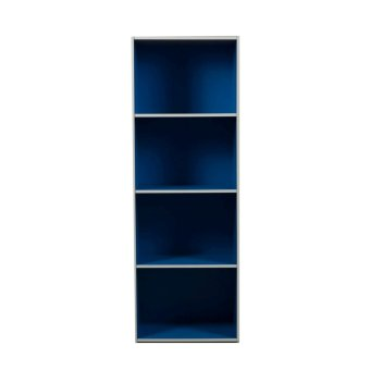 Harga Tailee Furniture ST-400BF 4-Layer Utility Cabinet Organizer (Blue)