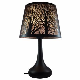 Harga FOREST SILHOUETTE LAMPSHADE BLACK