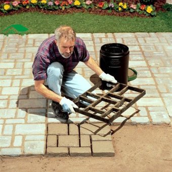 60x50cm Pathmate Mold Paving Stone Pavement Paver Maker Mould DIY - intl Price Philippines