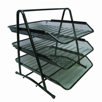 Metal Tray 3 Layer (Black) Price Philippines