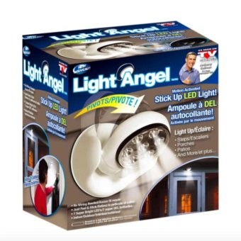 Light Angel Motion Activated Cordless LED Night Sensor Light (White) Price Philippines