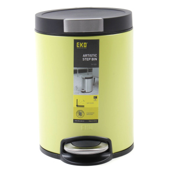 Eko 5L Trash Bin Pedal Bin (Green) Price Philippines