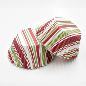 Harga 3oz Cupcake Liner 200 Pieces (Candy Stripes)