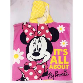 Hoody Towel Minnie Mouse Price Philippines
