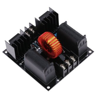 Harga ZVS Tesla Coil Driver Board Module Marx Generator Jacob Ladder H Voltage Power Supply