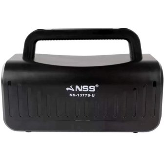 NSS NS-1377S-U Multifunction Mobile Power with Solar Charger (Black) Price Philippines