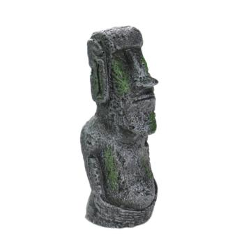 360WISH Aquarium Resin Easter Island Statues Landscaping Fish Tank Ornament Decoration - Grey L - intl Price Philippines