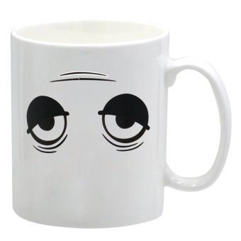 The Coffee Cup that Perks Up Wake-Up Changing Mug (White) Price Philippines