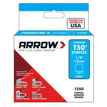 "GUN TACKER STAPLE WIRE 1/2"" / 12mm ( ARROW) Price Philippines"