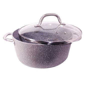Masflex 24cm Stone Forged Casserole with Lid Price Philippines