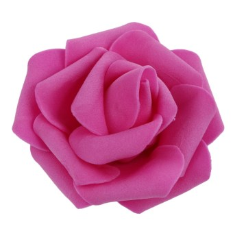 Harga 50pcs Foam Rose Flower Head Artificial Flowers Bouquet (Rose Red)