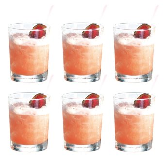 Harga Rock Glass / Whiskey Glass / Old Fashion Glass / Scotch Glass /Cocktail Glass 250ml Glassware Set of 6
