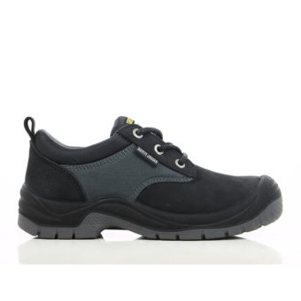 Harga [EU SIZE 43] Safety Jogger Sahara Steel Toe Cap and Steel Midsole Safety Shoes (Black)