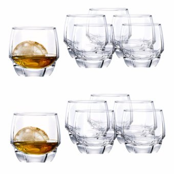 Harga Ocean Glassware Charisma Rock 12oz Whisky Glass Set of 12 (1B17112)