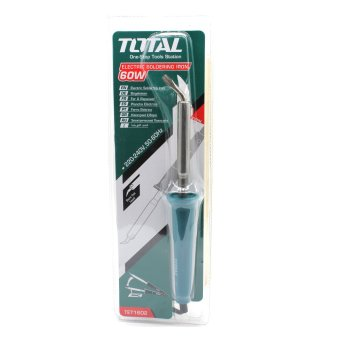 Harga Total 60W Electric Bent Flat Head Soldering Iron w/ Standby dock
