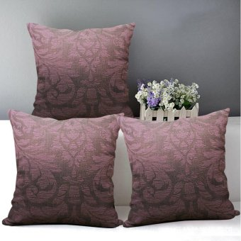 "Home Essentials Therese Indigo 16"" x 16"" Throw Pillow Case Set of 3 Price Philippines"