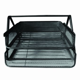 Metal Tray 2 Layer (Black) Price Philippines