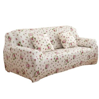 Harga Stretch Slipcover Big Elastic Printed Sofa Furniture Cover - intl