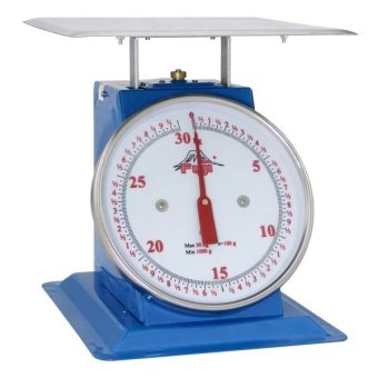 Harga Fuji FTF-30 Mechanical Table Flat Pan Scale (Blue)