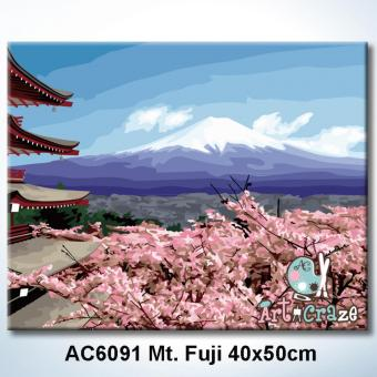 Harga Art Craze Mt. Fuji Paint by Numbers Kit