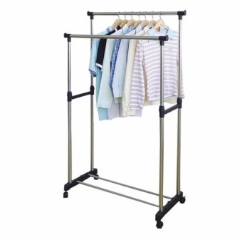 Harga Clothes Rack Double Pole No. YJX6802