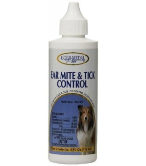 Harga Gold Medal Ear Mite and Tick Control (4 oz)