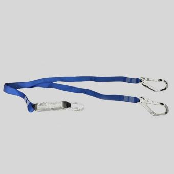 Harga JECH Energy Absorber Lanyard with Double Large Hooks (Blue)