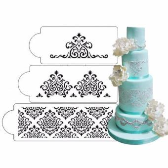 Elaine's Cake Stencil Set, 3 pieces/set Price Philippines
