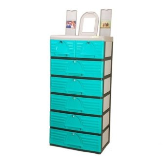 Jolly 6-layer Drawer (Green) Price Philippines
