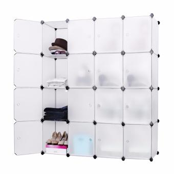 Tupper Cabinet 16 Cubes White Doors White DIY Storage Cabinet (White) Price Philippines