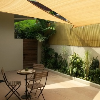 Al Fresco Shade Sail ® 5.0 x 5.0 x 5.0 m - Equilateral Triangle - Desert Sand Price Philippines