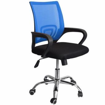 Ergodynamic Mesh Chair 360˚ Swivel Function black mesh backrest (Blue) Price Philippines