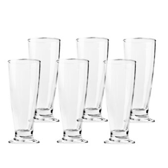 Harga Ocean Glassware Tiara Footed Tumbler 395ml Set of 6 (1B17514)