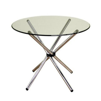 Harga Ergodynamic GT-90R 90cm Diameter Round Glass Chopstick Table Furniture