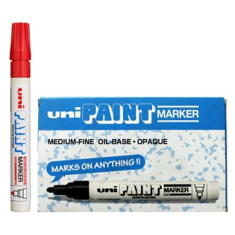Uni Paint Marker (Red) Pack of 6 Price Philippines