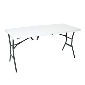 Harga Lifetime 5-foot Fold in Half Table