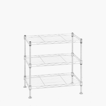 Harga Living Master 3-tier Adjustable Tabletop Shelf