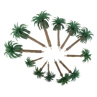 Harga Layout Model Train Coconut Palm Trees Forest Scale HO 13-6CM