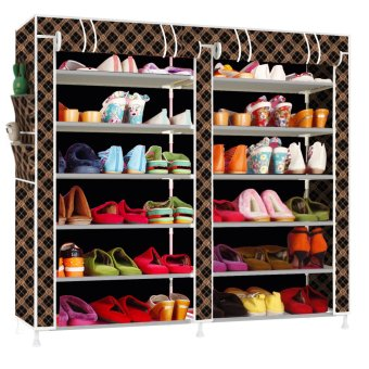 Fashion Shoe Rack (Cool black gold) Price Philippines