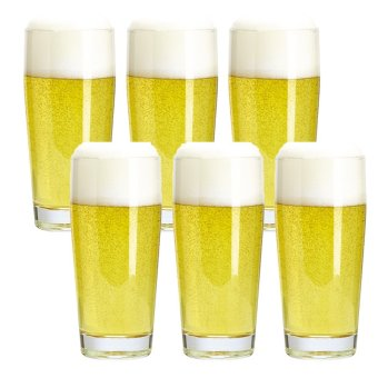 Harga Beer Glass / Tumbler / Water Glass / Juice Glass / Soda Glass /Cocktail Glass 280ml Set of 6 Glassware