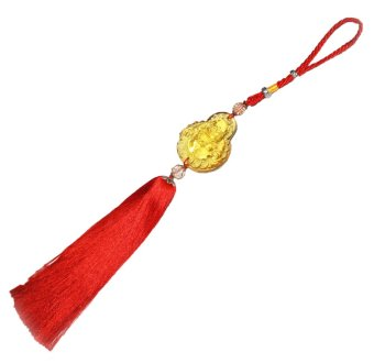 Harga Luaghing Buddha Feng Shui Lucky Charm (Red)