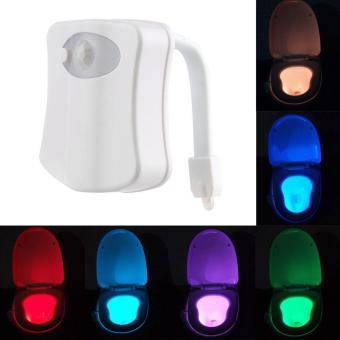 Body Motion Dection Sensor Automatic Seat LED Night Light For Toilet Bowl 8Color Price Philippines