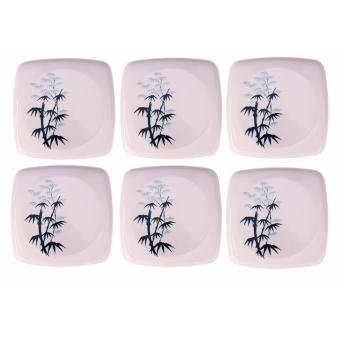 Harga SHOP AND THRIFT 1226 BAMBOO PLATE 6PCS