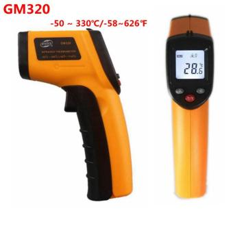 BENETECH GM320 LCD Gun Style Infrared Thermometer With Laser Pointer(-58℉~716℉) - intl Price Philippines