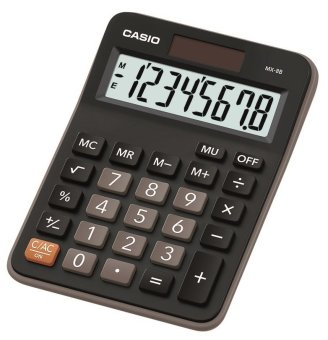 Casio Black Practical Calculator MX-8B Price Philippines