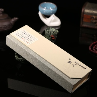 Harga 180pcs/pack Oriental Buddha Buddhist Aroma Nature Incense Sticks + Case Sandalwood #2 - intl